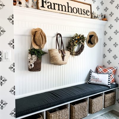 How To Style Your Mudroom