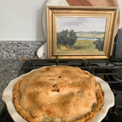 FAVORITE HOMEMADE APPLE PIE RECIPE
