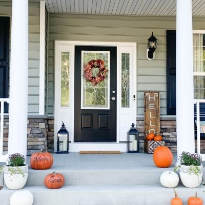 WELCOME YA'LL TO THE WHITE LILAC FARMHOUSE FALL HOUSE TOUR