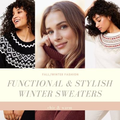 Functional & Stylish Winter Sweaters