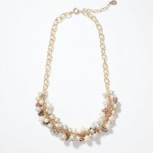Pearlized Bauble Necklace