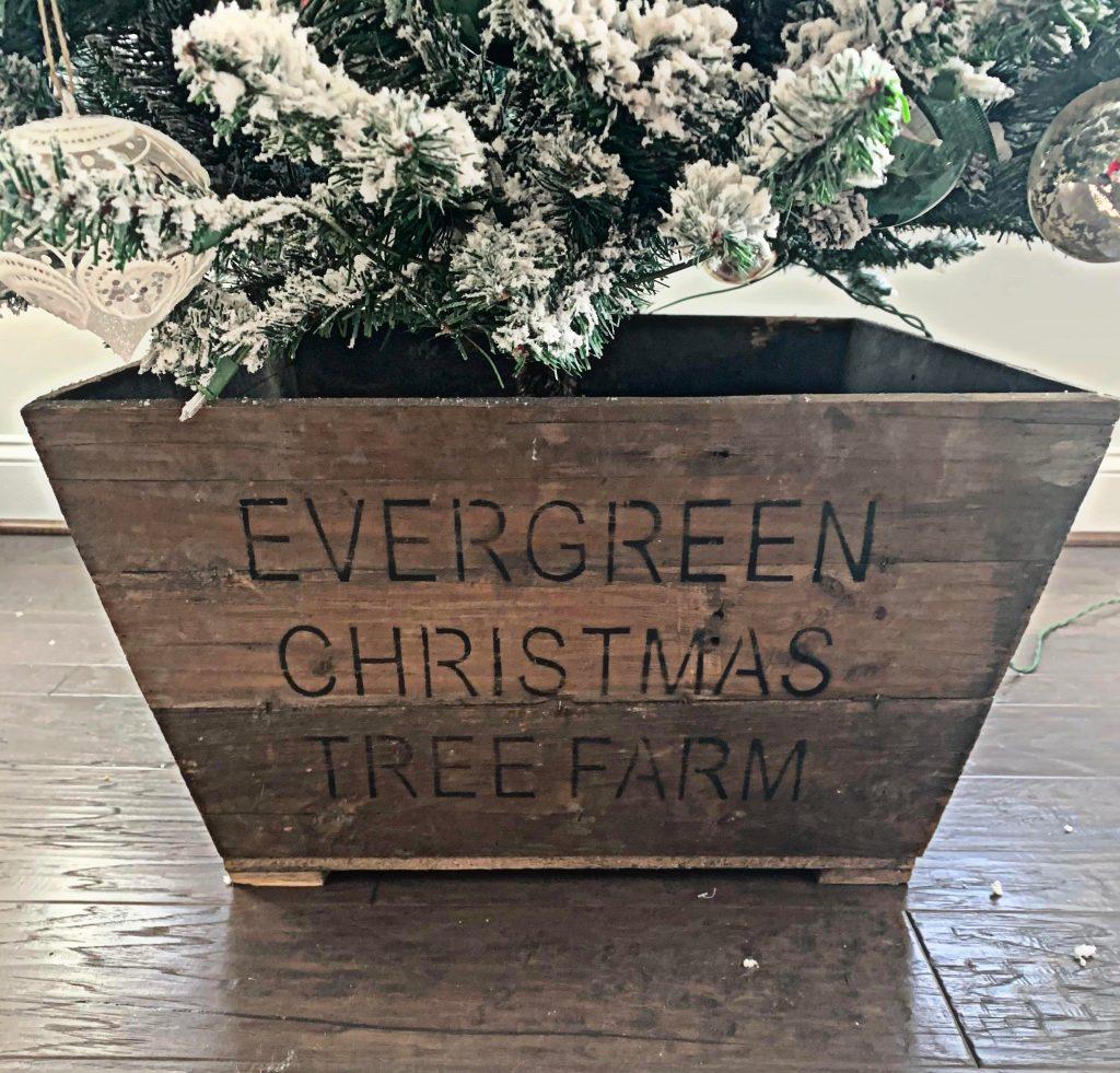 Christmas Tree Crate
