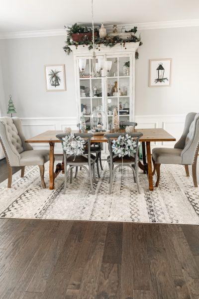 Christmas 2020 Dining Room