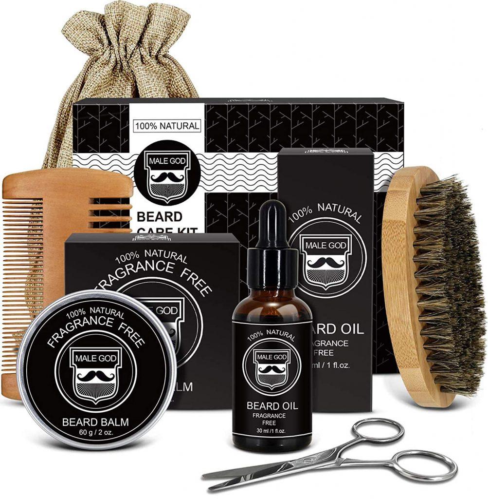 Fragrance Free Beard Kit