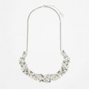 Snowstorm Statement Necklace