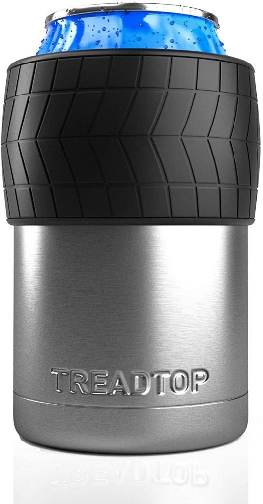 TreadTop Insulated Can or Beer Bottle Holder