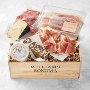 Williams Sonoma Gift Crate European Cheese & Charcuterie