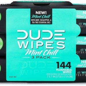 Dude Product Wipes Flushable Wet Wipes