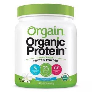 Orgain Organic Protein Powder - Vanilla Bean