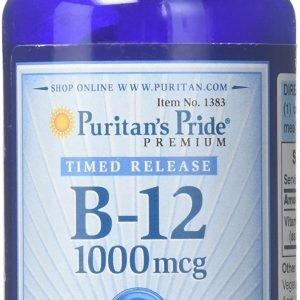 Puritans Pride Premium B-12 1000mcg 250 Tablets.jpg