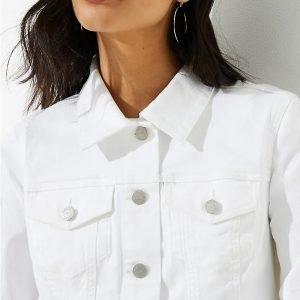 Friday Favorites Denim Jacket in White