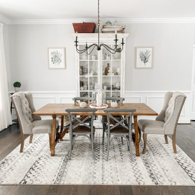 It Pays to Shop Around – Dining Room Lighting on a Budget