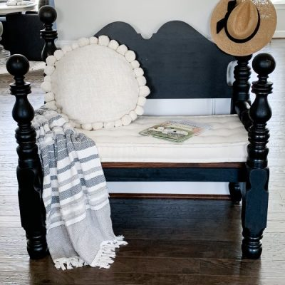Favorite Upcycled Bench