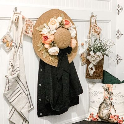 DIY Spring Wreath Project