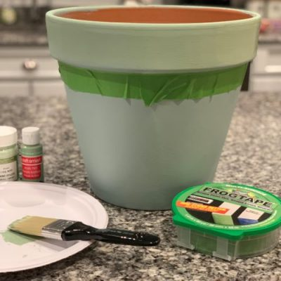DIY Painted Planter for Mother's Day