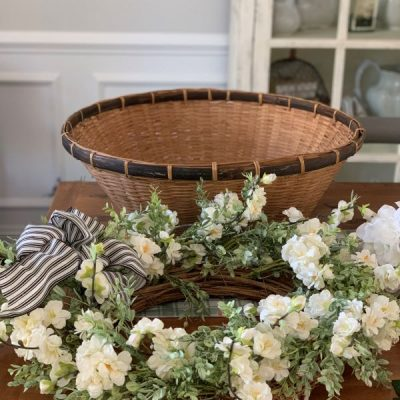 DIY Recycled Wreath Project