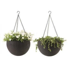 self water hanging baskets