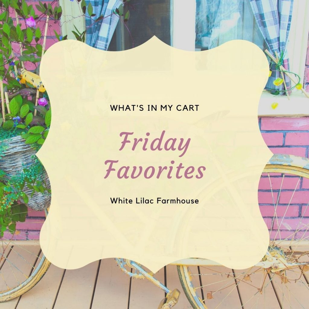 Friday Favorites Outdoor Items