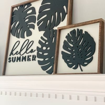 5 Ways to Style Your Mantel for the Summer