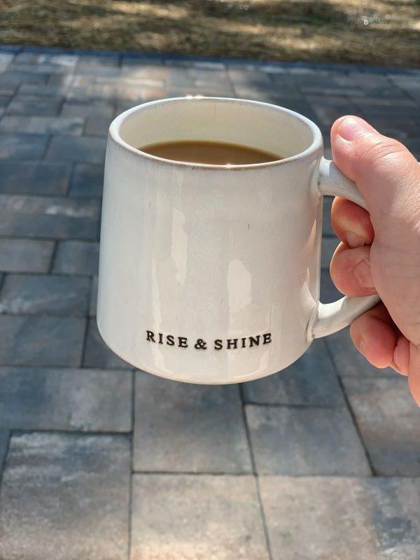 Saturday Morning Coffee Talk Patio