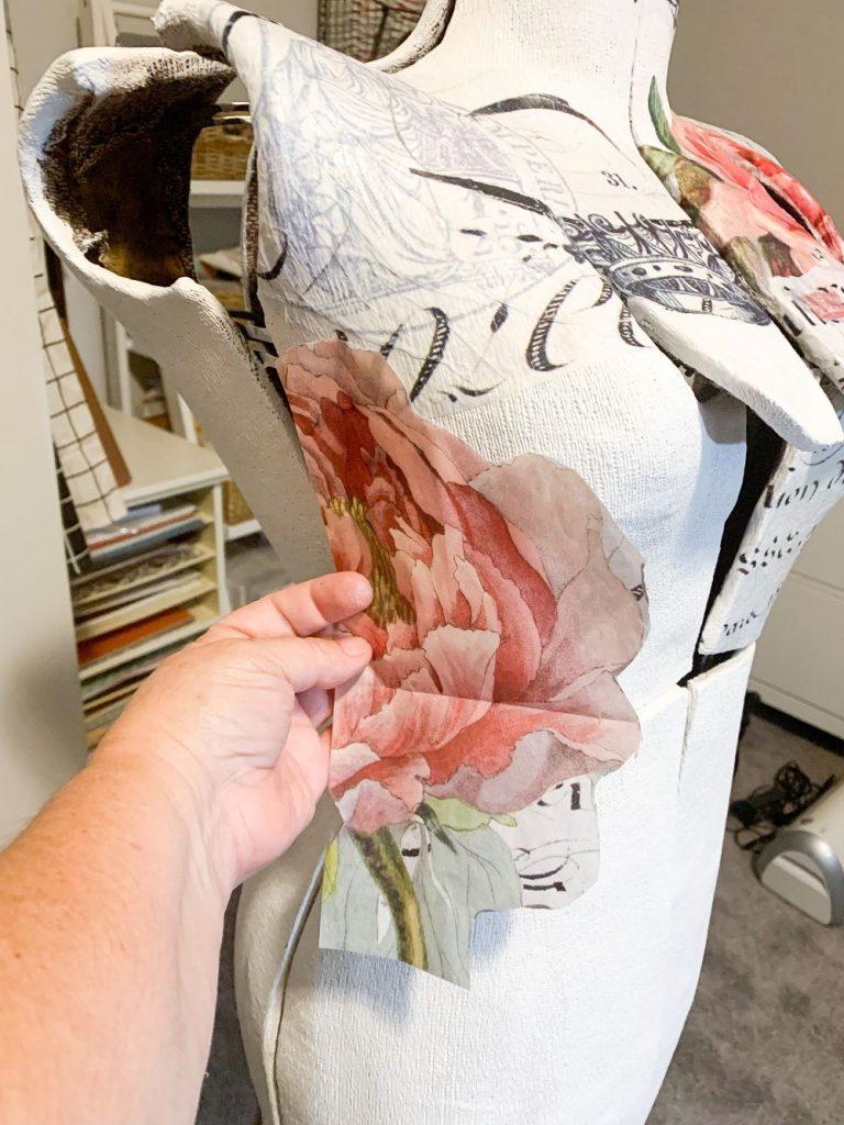 Applying Tissue Paper Design with Decoupage Gel.jpg