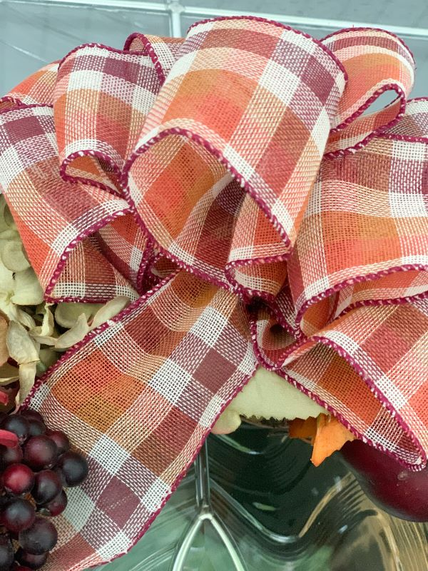 Fall Fabric Bow